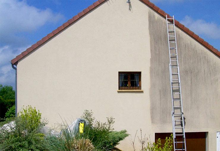 Ravalement, bardage façade : MR Delage intervient sur la Sarthe pour vos travaux de ravalement façade et pose de bardage.